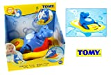 TOMY Aqua Fun Hippo Pedalo Age 12m+ Baby Care Bath Time 5011666021617