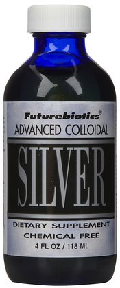 Futurebiotics Colloidal Silver (Liquid), 4 oz (Quantity of 1)