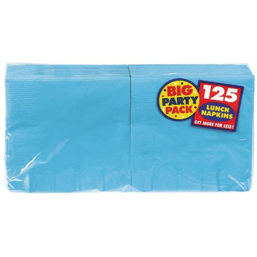 Amscan Big Party Pack 125 Count Luncheon Napkins, Caribbean - 1