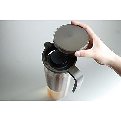 KINTO PLUG アイスコーヒージャグ1.2L ブラウン 【横置き可能】 22484
