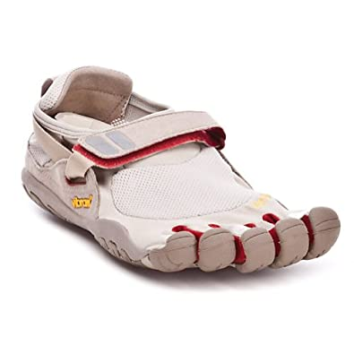 KSO TrekSport Shoe - Men's Champagne/Red 45 by Vibram FiveFingers
