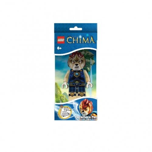 Lego Chima 'Laval' Retractable Stationery Character Pen
