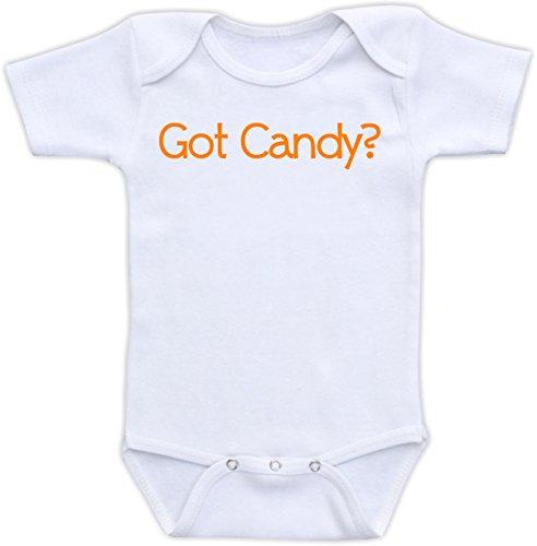 Got Candy - Size 24 Months Bodysuit (Orange)