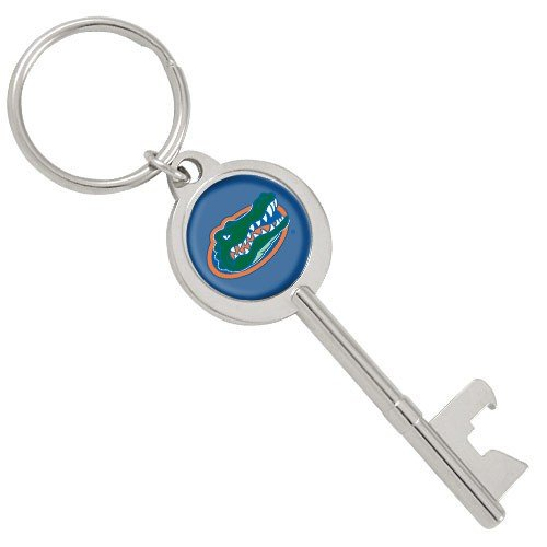 NCAA Florida Gators Skeleton Key Bottle Opener Key Ring