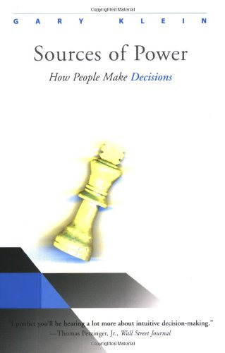 Amazon.com: Sources of Power: How People Make Decisions (9780262611466): Gary Klein: Books