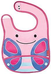 Skip Hop Zoo Tuck-Away Bib, Butterfly