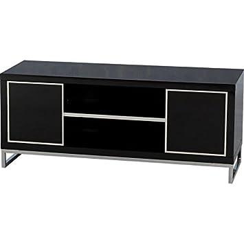 Elegante y carisma impresionante Color negro 2 puertas y 1 estante televisor - acabado MiniSun zespoke será CARISMA televisor A opción Popular para cualquier hogar
