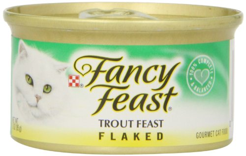 Fancy Feast Flaked Trout Feast Gourmet Cat Food