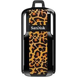 SanDisk 16GB Cruzer USB 2.0 Flash Drive (Leopard Print) (SDCZ52B-016G-A35L)