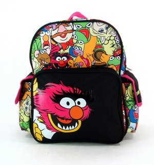"12"" The Muppets Animal Backpack-tote-bag-school"