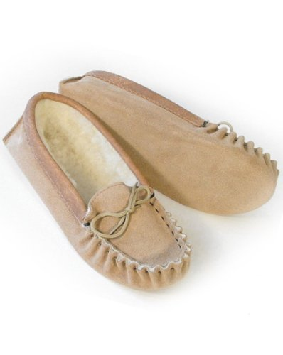 Image of Ladies Suede Moccasins with Soft Sole. Made in England (B008MYJE1W)