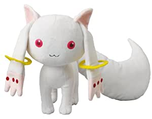 Amazon.com: Puella Magi Madoka Magica Kyubey Plush - 40cm Long: Toys