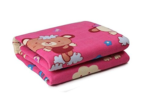 150*70Cm Plush Electric Blanket Automatic Protection Type Thickening Single Electric Blanket Body Warmer The Heated Blanket (Pink)