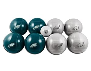 NFL Philadelphia Eagles Bocce Ball Set by Wild Sports