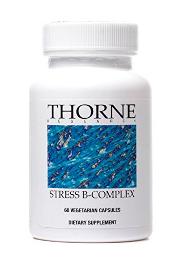Thorne Research - Stress B-Complex - Vitamin B Supplement for Adrenal Support and Stress Management - 60 Vegetarian Capsules