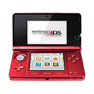 Nintendo 3DS - Flame Red at Amazon.com