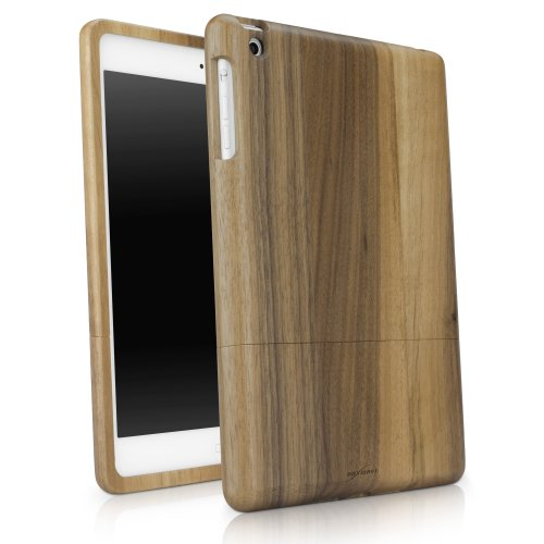 BoxWave True Wood iPad mini Case - 100% Authentic Wood Grain Full Body Protective Slider Case for iPad mini (Walnut)