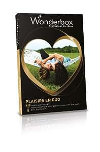 WONDERBOX - Coffret cadeau - Plaisirs en duo