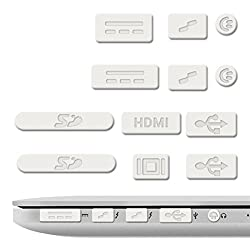 iFyx Anti Dust Silicone Port Plugs Cover for Apple Macbook Pro Retina 13
