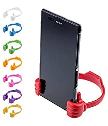Gadget Deals Universal Portable Mobile OK Stand - Thums Up Mobile Tablet Stand - Multicolour