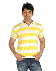 Silver Spring Yellow Super Combed Cotton T Shirt _ RVD017_XL