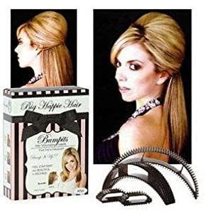Big Happie Hair Bumpits Hair Volumizing Inserts (Set of 5) - Brown