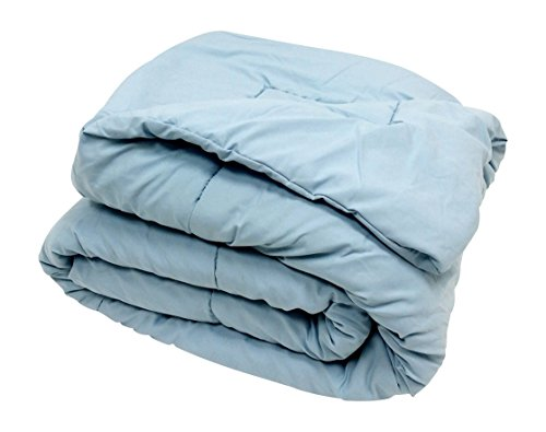 Multiple Sizes - High Quality Oversized Down Alternative Comforter Super Soft 90 Gsm- Light Blue-Full / Queen- Exclusively By Blowout Bedding Rn# 142035 front-682513