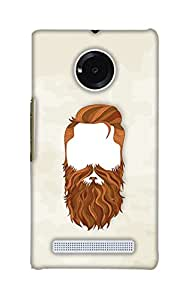 Print Haat Back Case Cover for YU Yuphoria (Multicolor)