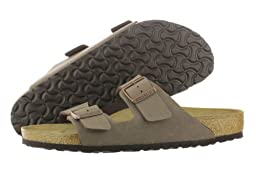 Birkenstock Unisex Arizona Sandal,Mocha Birkibuc,44 M EU