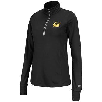 NCAA California Golden Bears Ladies Pivot 1 2 Zip Jacket by Colosseum