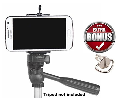 Cell-Phone-Tripod-Adapter-iPhone-Tripod-Mount-SE-6-6S-Plus-5-5S-5C-4-4s-Clip-Holder-Connector-Head-Smartphone-Attachment-Samsung-Galaxy-S7-S6-S5-S4-S3-S2-DaVoice