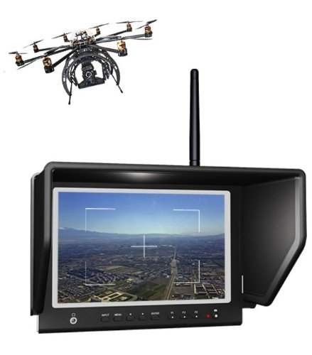 """New Lilliput 7"""" 664W Fpv Monitor 5.8Ghz Wireless Receiver Hdmi In 1280*800 With Hdmi Input, Fpv Monitor"""