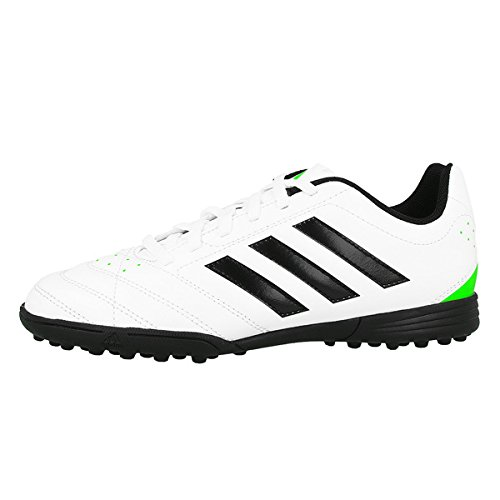 Adidas Goletto V TF J Kinder Fussballschuhe chalk white-core black-solar green - 38