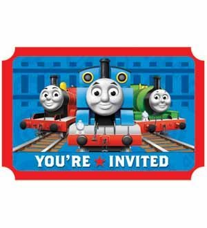 Thomas and Friends 'Save the Date' Invitations (8ct) [3 Retail Units]