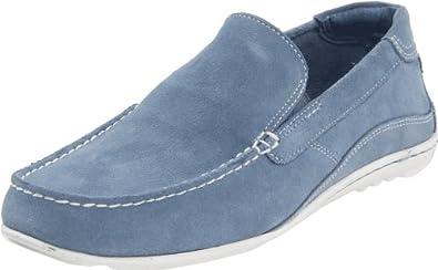 Rockport Men's Cape Noble Driving Shoe, Light Blue, 11 M US