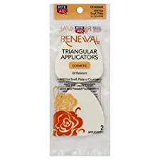 Rite Aid Renewal Applicators, Triangular, Cosmetic, 2 applicators