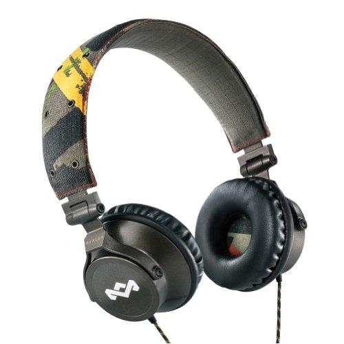 House Of Marley Em-Jh021-Ra Revolution Rasta On-Ear Headphones