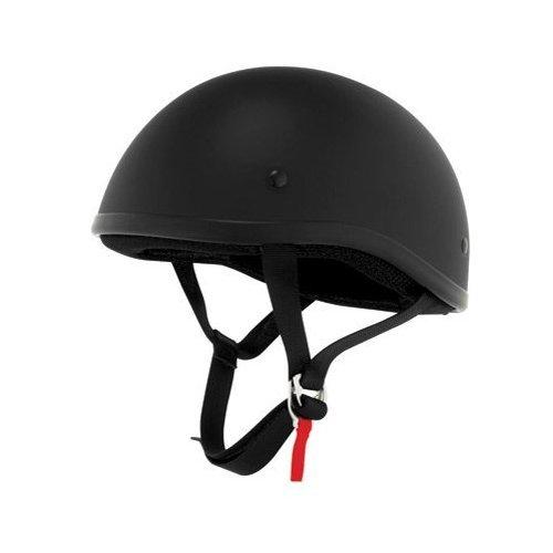 Skid Lid Flat Black DOT Approved Helmet 4 Harley Davidson XXL
