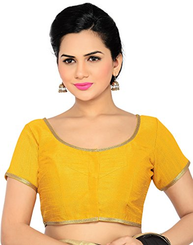 ca31c56560 Studio Shringaar Formal Yellow Solid Short Sleeve Non-Padded Blouse Price in  India | Buy Studio Shringaar Formal Yellow Solid Short Sleeve Non-Padded  Blouse ...