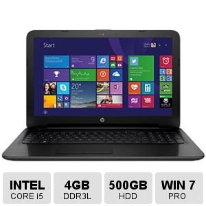HP N2S70UT#ABA 15.6'' Intel Core i5-5200U/ Windows 7 Professional Laptop (Ultrabook Windows 7 compare prices)