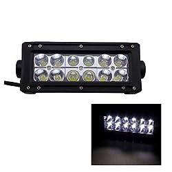 See 36W Type/B Spot 6000K 12-Epistar LED Work Light Bar DIY Used in Car/Boat/Auto Headlight Details
