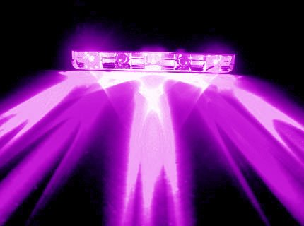 UV – PURPLE 5LED NEON MOTORCYCLE / CAR / BOAT / HOME / POD LIGHT BRIGHT 5 LED ACCENT GLOW