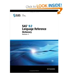 Sas 9.2 Language Reference Dictionary