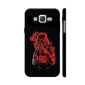 Colorpur Star Wars Funny Illustration On Black Artwork On Samsung Galaxy J2 (Old) Cover (Designer Mobile Back Case) | Artist: Neeja Shah