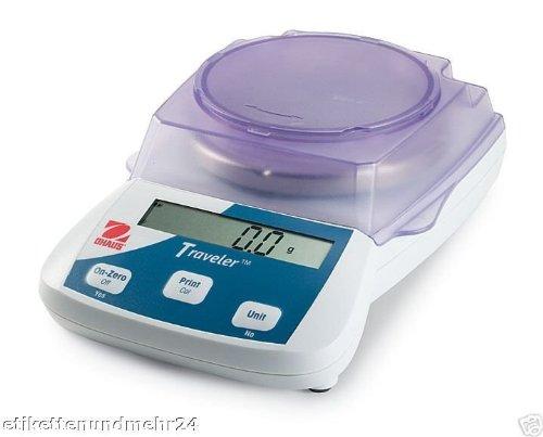 Traveler ohaus balance pèse jusqu'à 5 000 g/1 g)