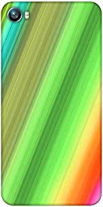 Snoogg Rainbow power 2400 Designer Protective Back Case Cover For Micromax Canvas Fire 4 A107