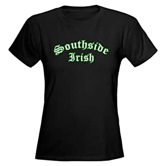 Amazon.com: CafePress Southside Irish Women's Dark T-Shirt: Clothing