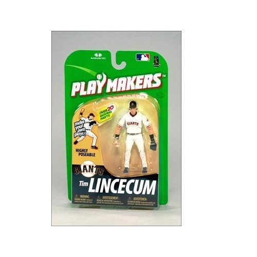 San Francisco Giants Mcfarlane 2010 MLB Playmakers Series 1 Tim Lincecum Action Figure
