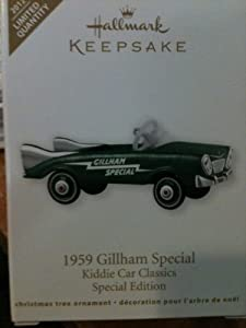 Hallmark Club Ornaments QXE3051 1959 Gillham Special Kiddie Cars Classics 2012 Limited Quantity Hallmark Keepsake Club Exclusive Ornament at Sears.com