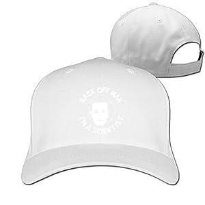 BACK OFF MAN I'M A SCIENTIST Mens Sport Golf Hat Baseball Caps Cool Hat